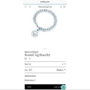 💜Round Tag Bracelet